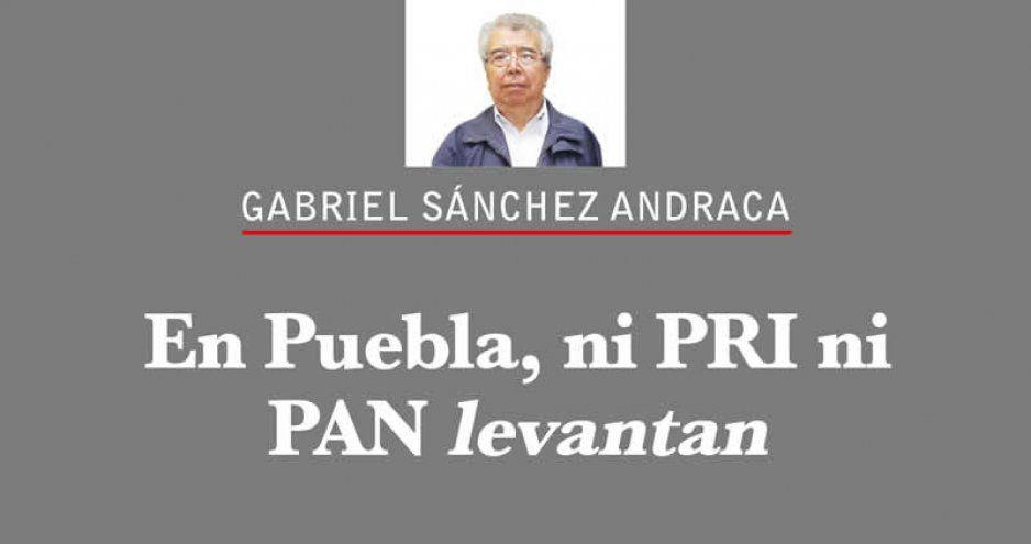 En Puebla, ni PRI ni PAN levantan
