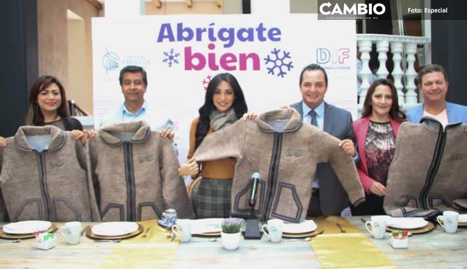 DIF de San Pedro Cholula inicia programa Abrígate Bien 2019 ante bajas temperaturas