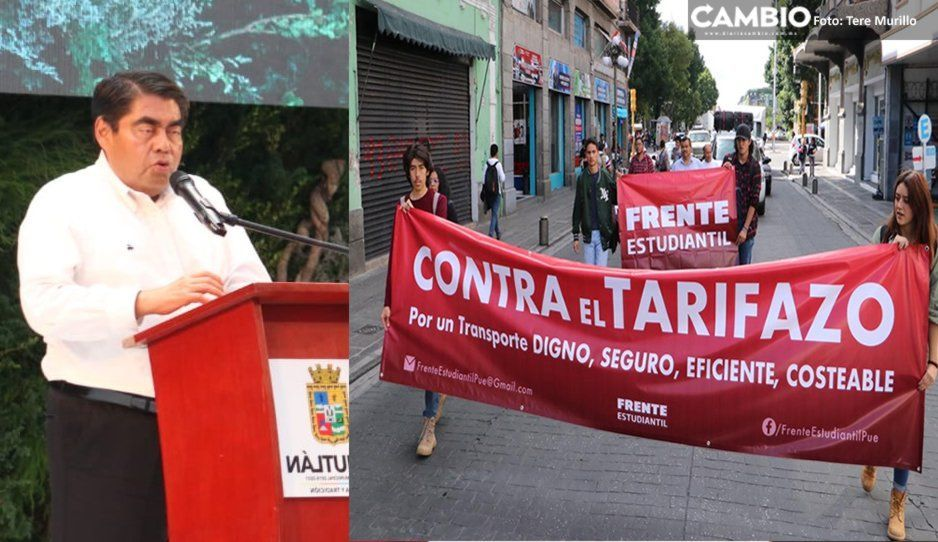 Barbosa asumirá el costo político del tarifazo al transporte público