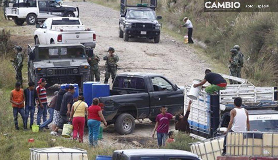 Siete municipios de Puebla incluye AMLO en Plan de Bienestar contra el huachicol