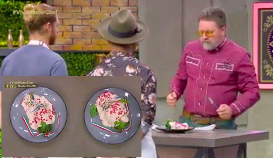 ¡Insulto para los poblanos en Master Chef! Hacen chiles en nogada sin capear(VIDEO)