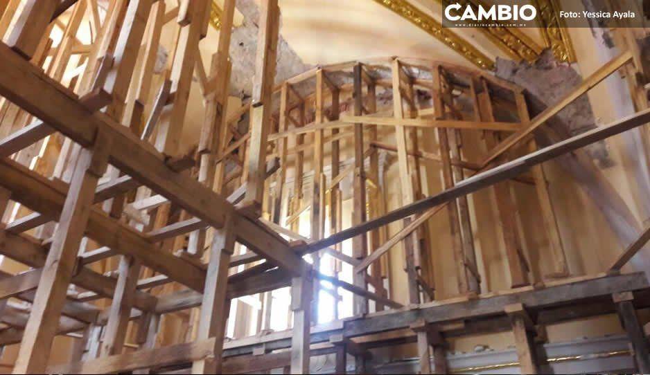 Detectan saqueo de arte sacro tras sismo del 19S en templos de Atlixco