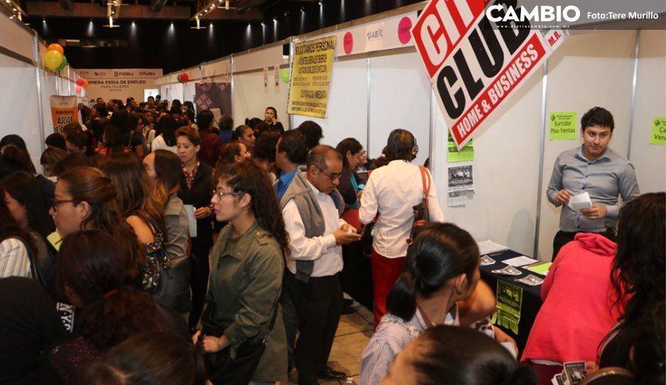 Pese a repunte del 0.4 % en desempleo, Puebla está por debajo de la media nacional