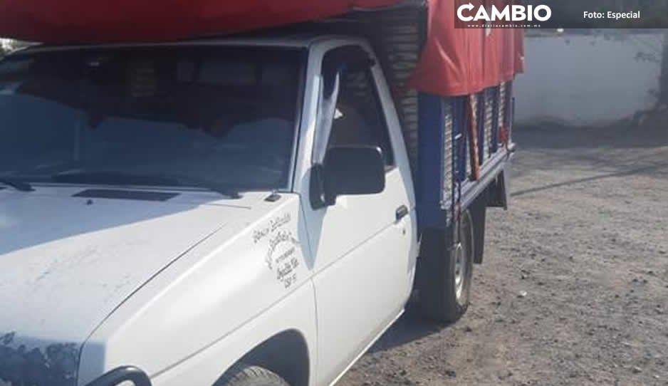 Comerciantes prevén dejar de distribuir sus productos por asaltos en Moyotzingo