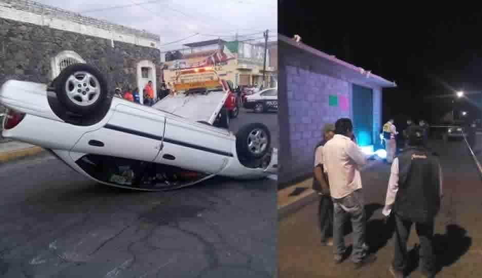 Dos homicidios y cinco accidentes viales este fin de semana en Atlixco