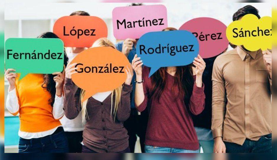 Estos son los 12 apellidos más comunes en México
