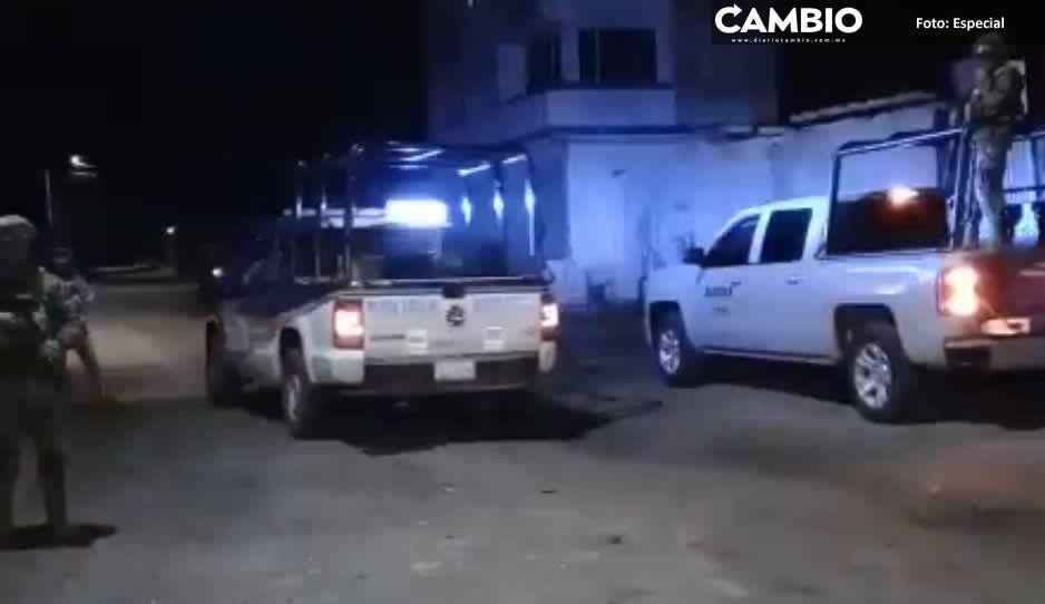 Protección Civil evacúa área de fuga en Texmelucan