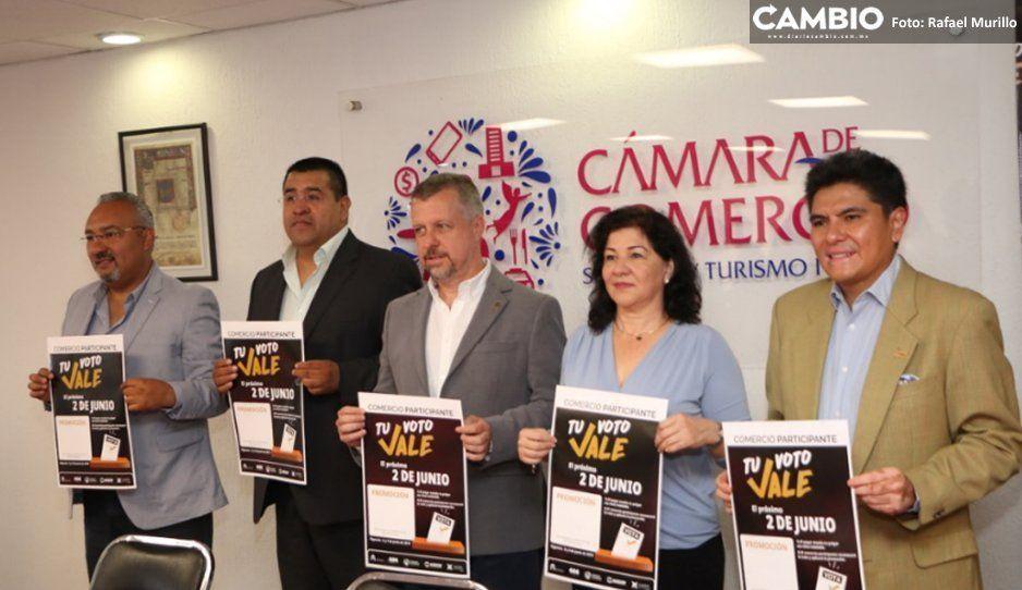 Canaco incentiva la votación, anuncia descuentos de hasta el 20 % a electores