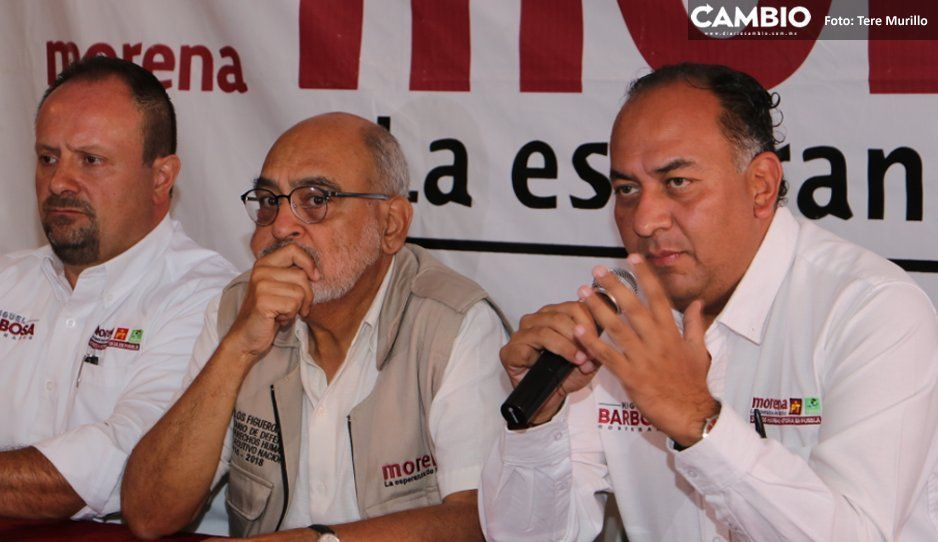 Morena acusa a Eukid y a edil de Atlixco de querer violentar elección a favor de Cárdenas
