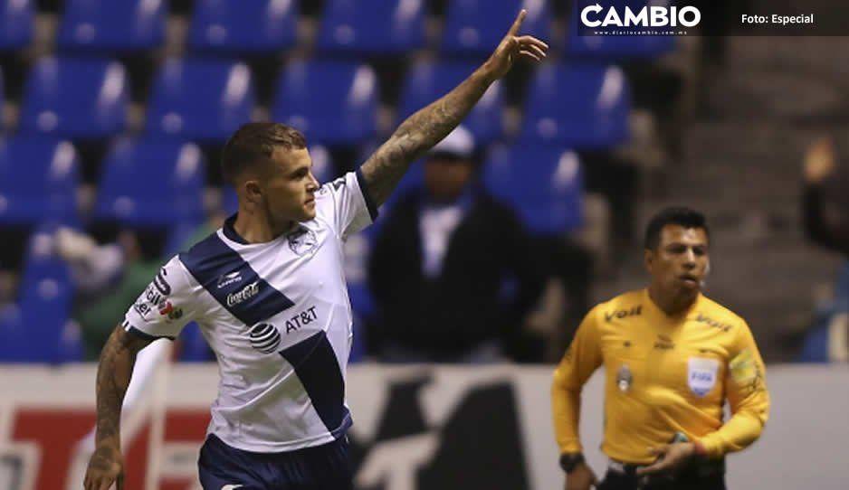 Tabó se lesiona por quinta ocasión y es baja en el Pumas vs Club Puebla
