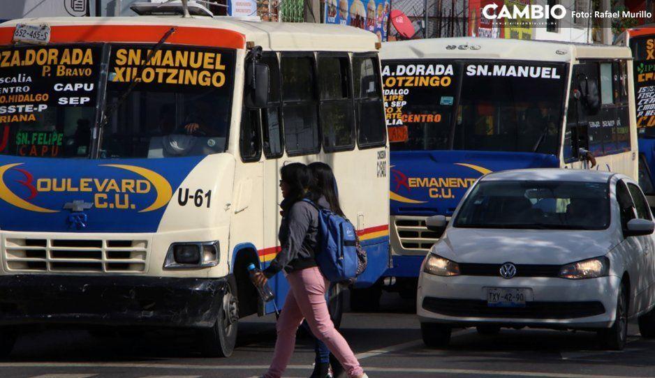 Inicia cuenta regresiva: restan 79 días para modernizar mil 100 unidades de transporte