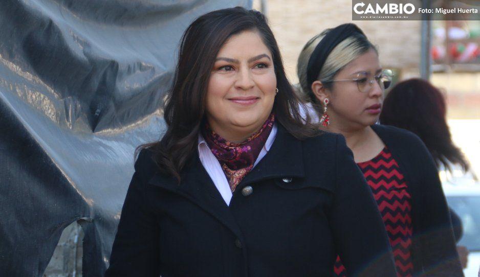 Claudia les echa la culpa a los locatarios de retraso en remodelación del Mercado Unión