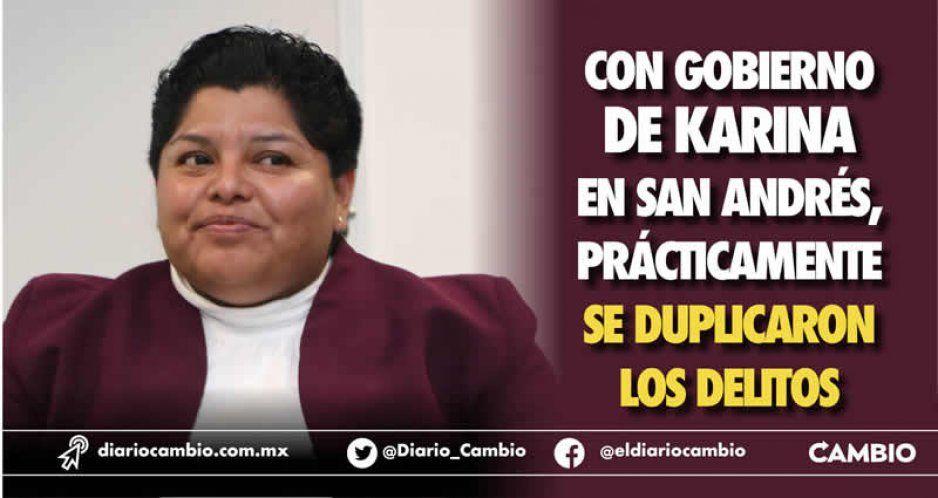 San Andrés Cholula también se hunde en inseguridad con Karina: crecen 57 % los delitos