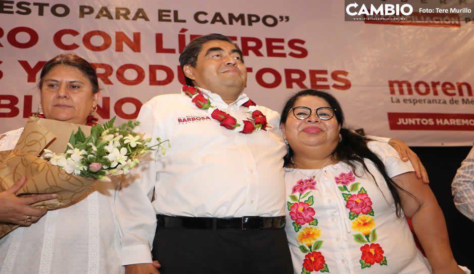 Maritza Marín, una más que traiciona al PRI y se suma a la campaña de Barbosa