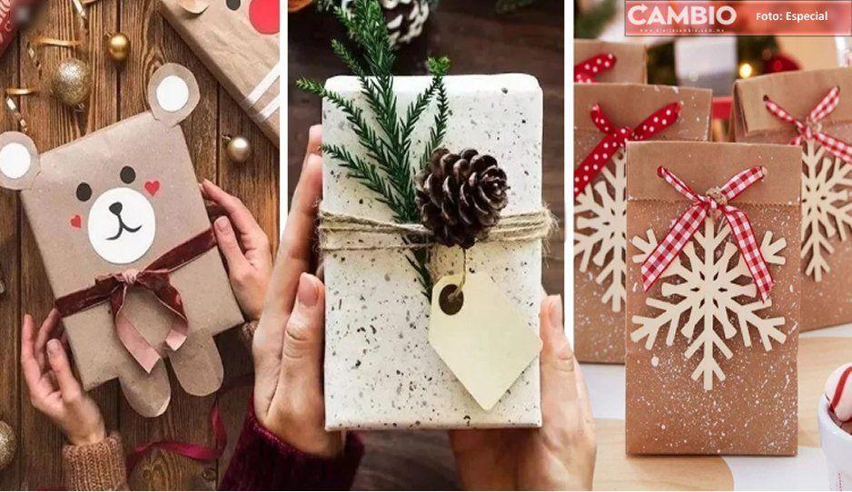 Triunfa con estas ideas para envolver tus regalos