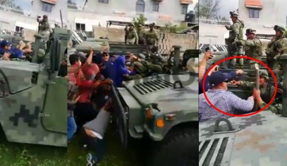 Aquí no hay Acajete bueno: brutal enfrentamiento entre 150 huachicoleros vs el Ejército, hay varios heridos (VIDEO)
