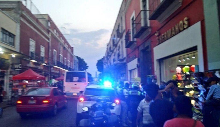 Ambulantes del Centro Histórico golpean a mujer en el último día del Buen Fin