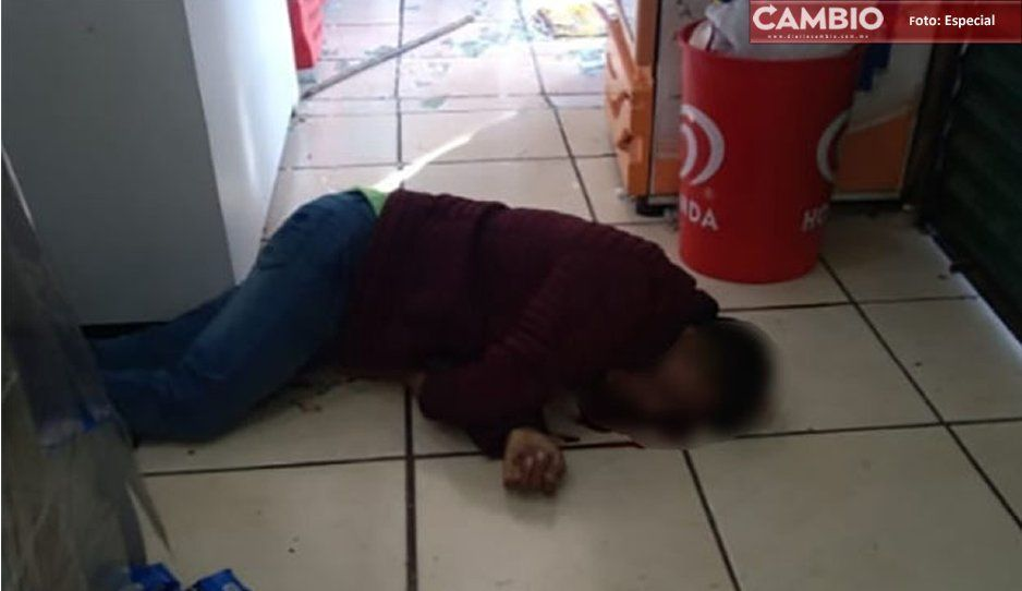 Lo mataron con arma de fuego y no a golpes en tienda en Ciudad Serdán