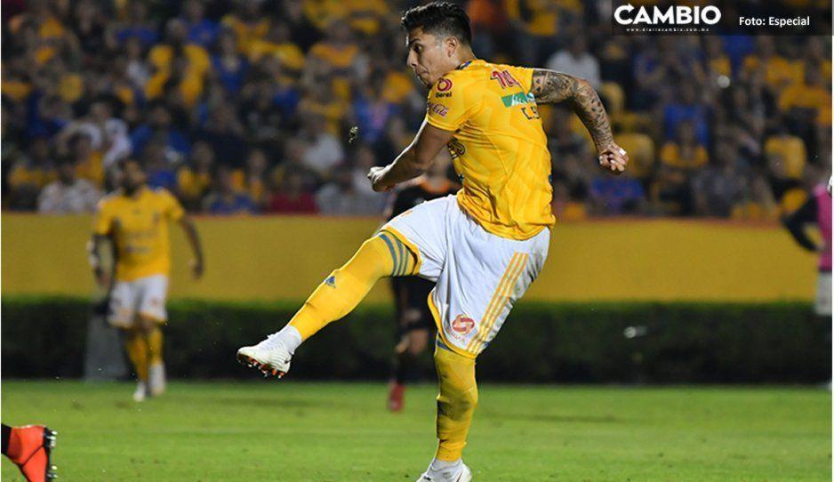 Con golazo debutó Carlos Salcedo con Tigres en la Concachampions