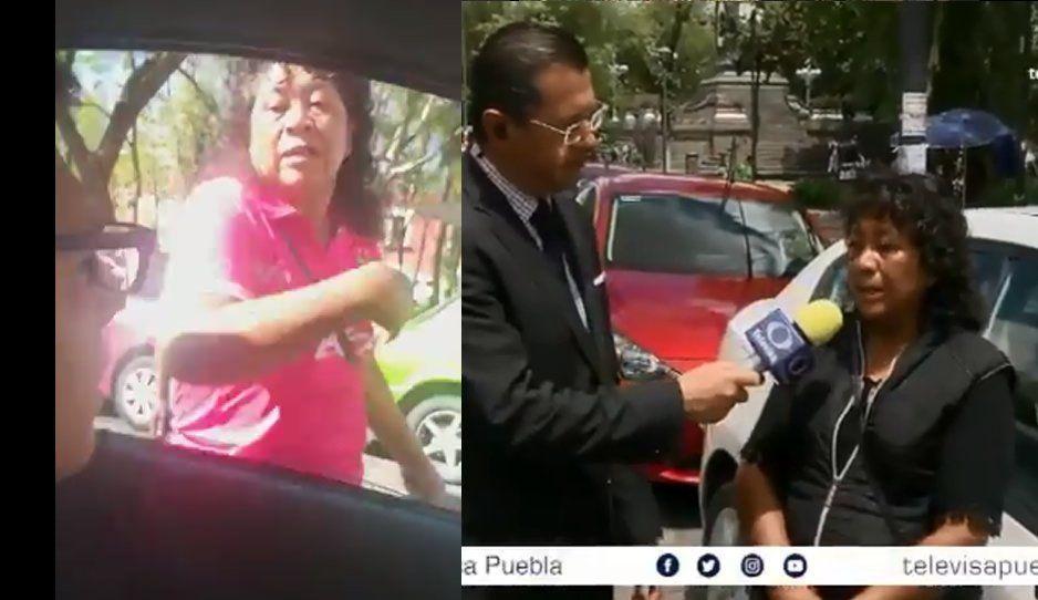 Nos dijo indios mugrosos por eso lo golpeamos: franelera del IMSS San José (VIDEO)