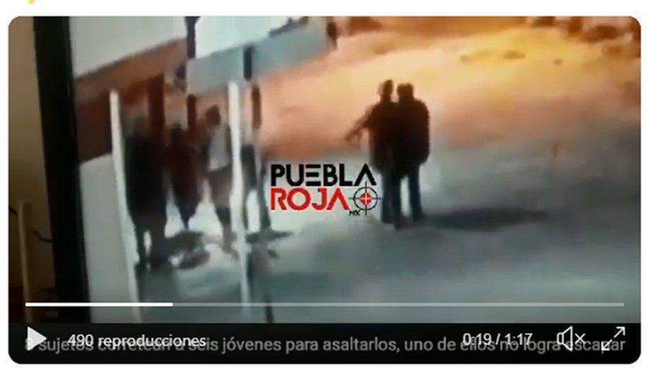 Corretiza en la colonia Satélite: así asaltaron y golpearon a jóvenes (VIDEO)
