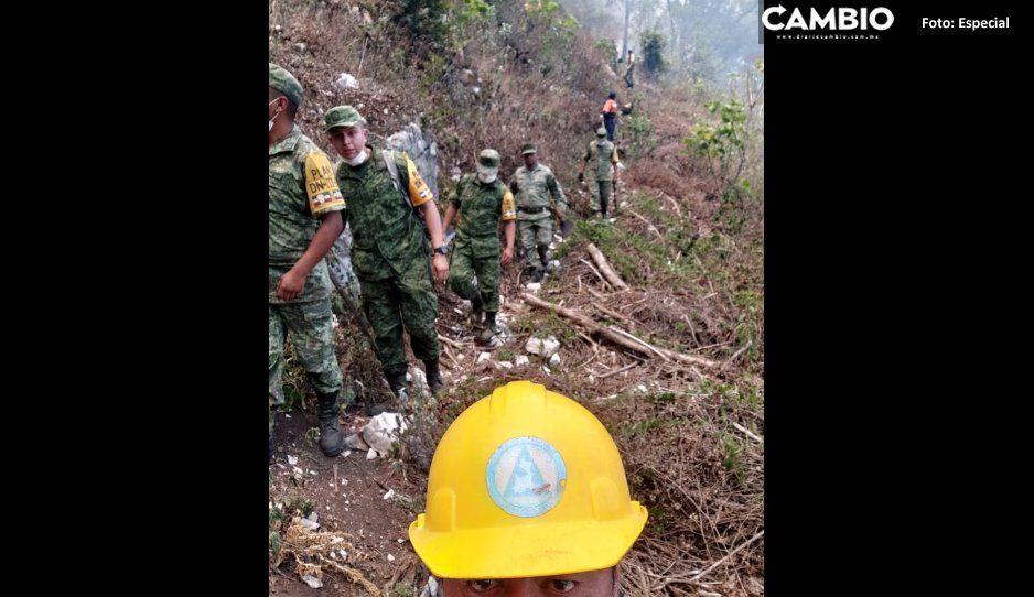El colmo: Ejército protege a brigadistas de los huachicoleros en la Sierra Norte