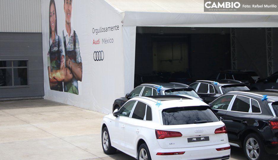Con tres paros  en 2019, Audi  supera su marca del año pasado
