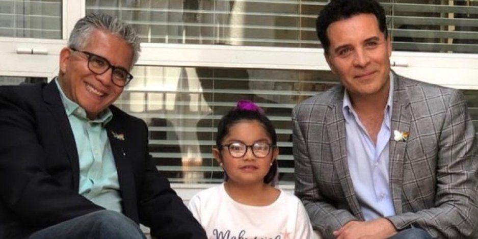 Felipe y Javier, la primera pareja gay que logra adoptar en México (FOTOS)
