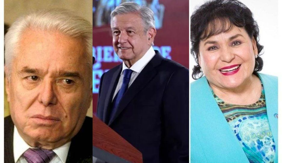 Carmen Salinas pide ayuda a AMLO tras amenaza de muerte de Enrique Guzmán