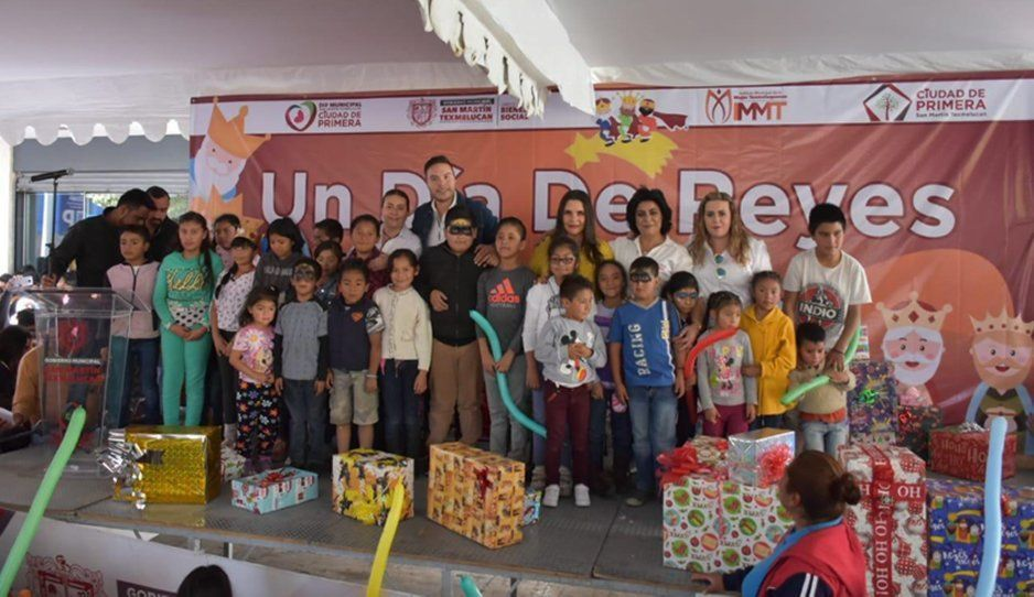 Celebran Día de Reyes DIFerente en Texmelucan