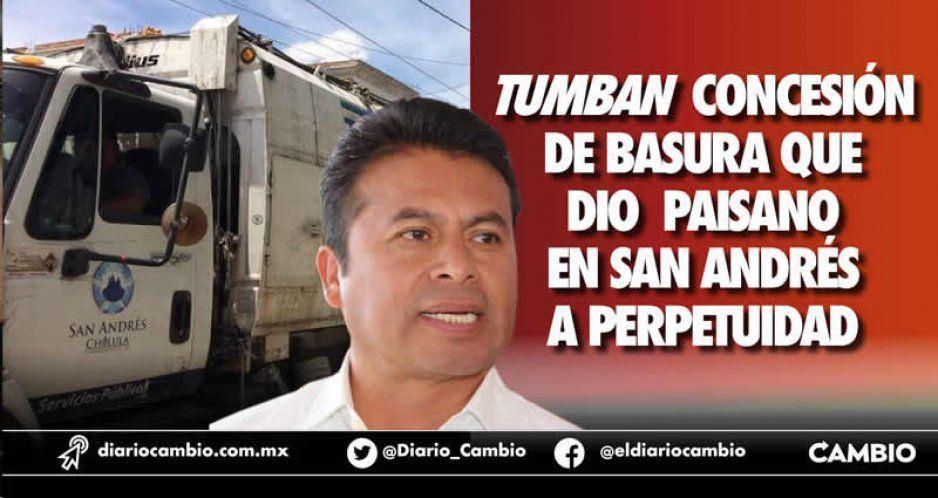 Juez de Distrito tumba la concesión de basura que entregó Leo Paisano