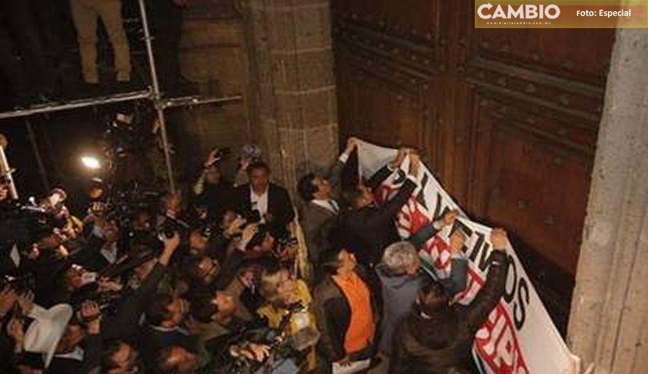 Guillermo Velázquez edil de Atlixco, entre los gaseados por orden de AMLO