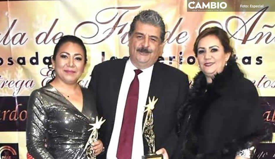 Gustavo Vargas recibe reconocimiento del Círculo Nacional de Periodistas por mérito político y social