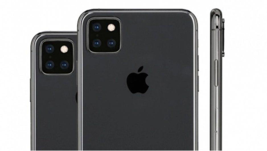 Filtran nuevo diseño del iPhone 2019 con tres cámaras (FOTOS)