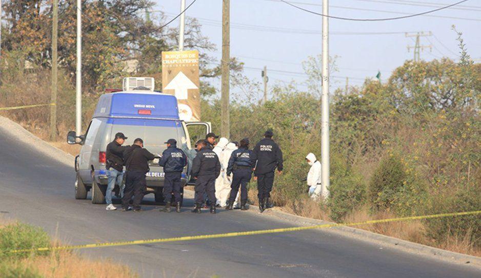 Terror en Puebla: Ejecutan a balazos a dos hombres a lado del Periférico Ecológico