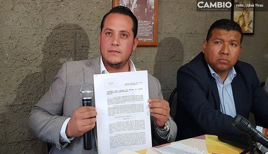 Denuncian a Karina Pérez ante la Fepade, por delitos electorales (VIDEO)