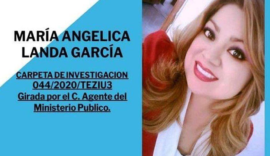 ¡Angélica Landa lleva 3 días desaparecida! Su familia la busca desesperadamente