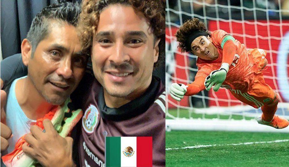 Guillermo Ochoa, a dos goles de ser el portero más goleado de la selección mexicana