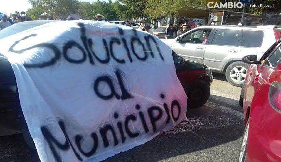 Ante los secuestradores en Tepexco, vecinos advierten que los lincharán