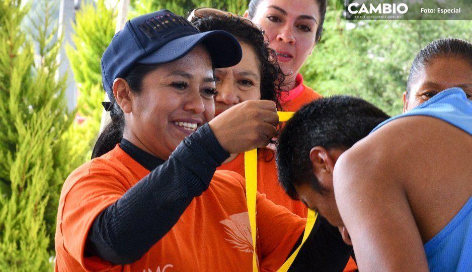 Ayuntamiento de Cuautlancingo celebra  carrera por una Vida Libre de Violencia