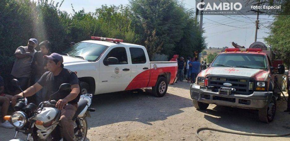 Otra fuga en gaseoducto en Texmelucan, bomberos ya controlan la fuga