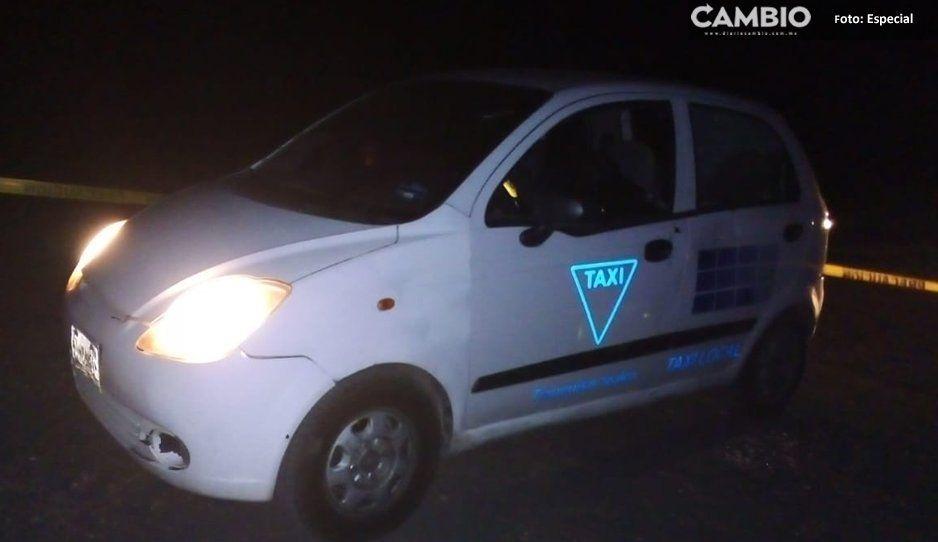 Ejecutan a taxista, hermano del alcalde de Tianguismanalco
