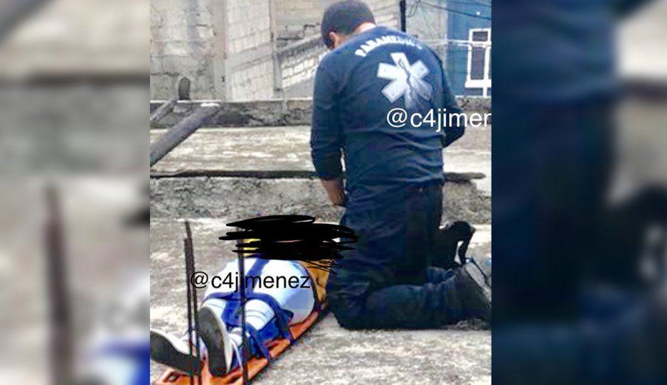 Sobrina de Fernández Noroña se intentó suicidar tirándose de un primer piso