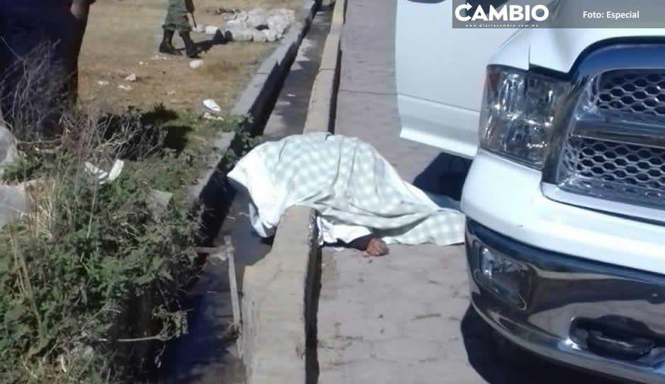Ejecutan a comandante y policía de Los Reyes de Juárez al salir de turno