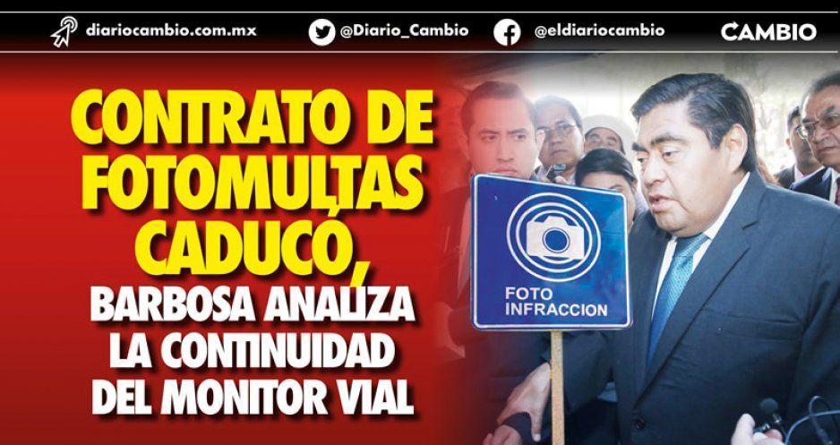 Contrato de fotomultas caducó, Barbosa analiza la continuidad del Monitor Vial (VIDEO)