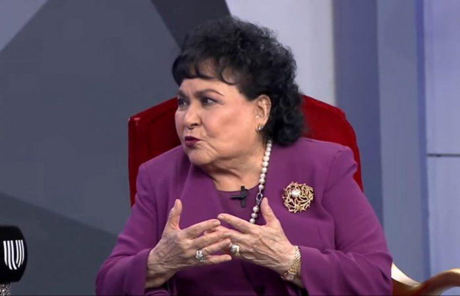 Carmelita Salinas se queja de su sueldo como diputada: ganaba más con Aventurera