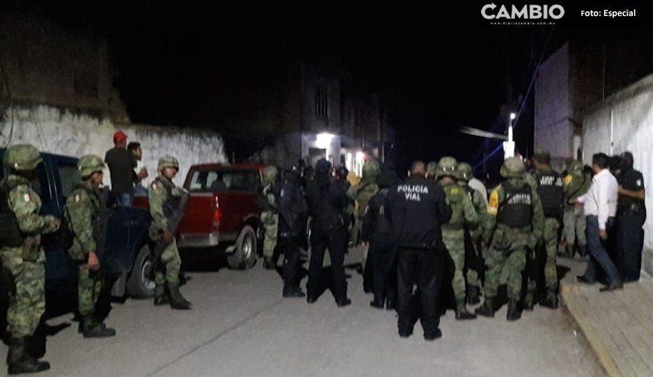 Acuexcomac consigue ingreso de la Guardia Nacional, tras intento de linchamiento