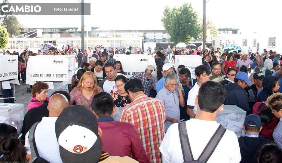 Candidatos exigen cancelar la elección en Xonacatepec y Totimehuacan