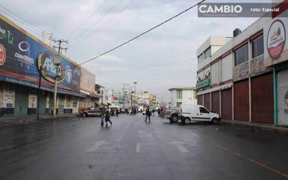 ¡Cómo de película! Se registra balacera en la Autopista México-Puebla