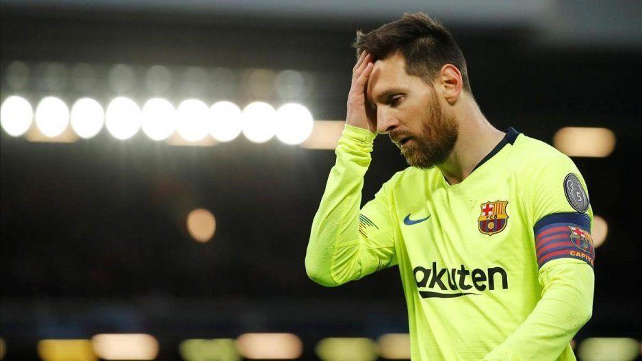 Messi no pudo contenerse en el vestuario y rompió en llanto tras la eliminación: The Guardian